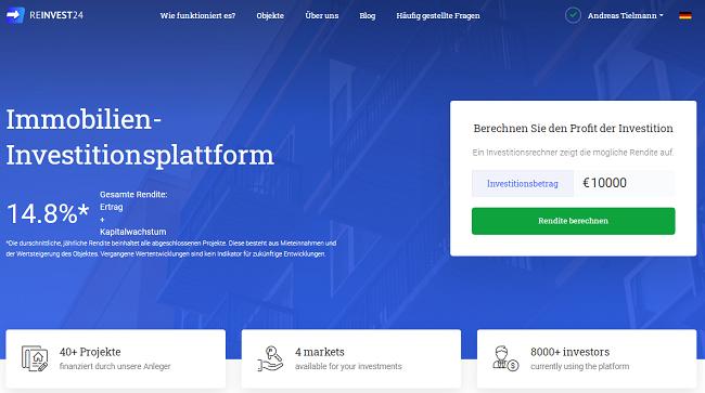 reinvest24-startpage